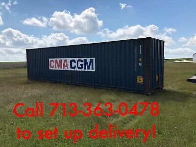 Used 40' hi cube shipping containers for Sale in Texas