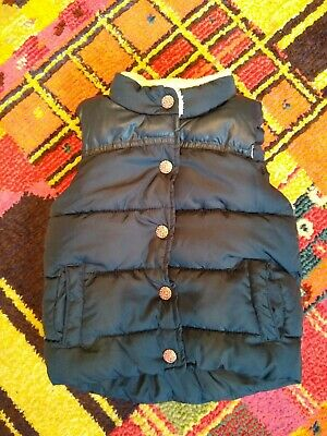 Next Age 1 1/2 _ 2 Girls Warn Fur Lined Gillet Body warmer