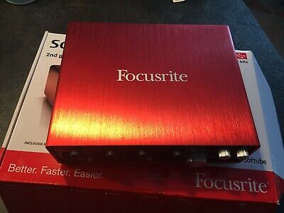 Focusrite Scarlett 18i8 2nd Generation USB Audio Interface