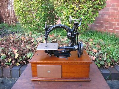 Antique Willcox And Gibbs Sewing Machine