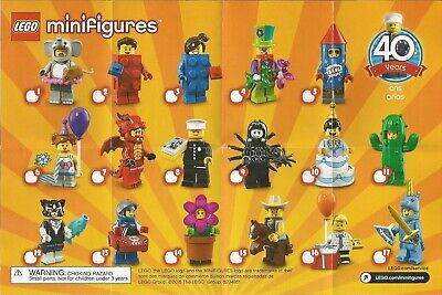 Lego Collectible Minifigures 71021 Series 18 RANDOM lot of 11 sealed Packs