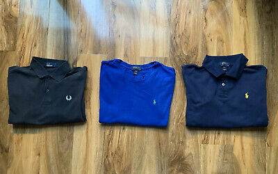 Boys Designer Clothes Bundle Fred Perry Polo Ralph Lauren Age 14-15 15-16 Years