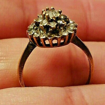 Rare Ancient medieval Roman Bronze Ring Museum Quality Artifact