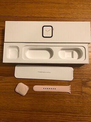 Apple Watch Series 4/40 MM Gold Box And Inserts Only