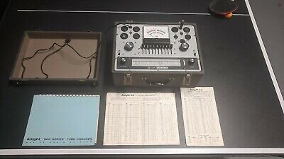 Knight Allied Kg-600B Portable Vacuum Tube Tester Fully Tested