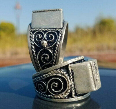Extremely Ancient Medieval ROMAN Silver RINGS museum quality Very Stunning