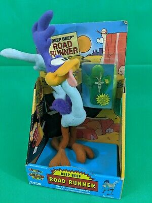 1995 Tyco Road Runner Plush Wile E Coyote Inflatable Looney Tunes