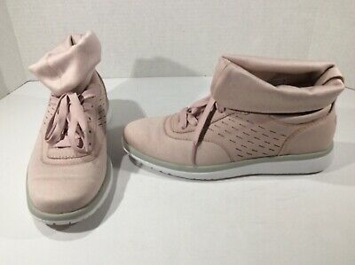 UGG AUSTRALIA WOMENS Islay Pink Lace Up Fashion Sneakers
