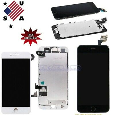 For iPhone 7 Plus 6 Plus FULL Screen Lcd Display Touch Digitizer +Button +Camera