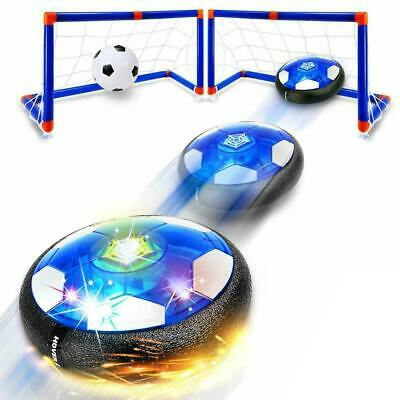 Kids Toys Hover Soccer Ball - 2020 Updated Rechargeable Led Air Power Soccer Set