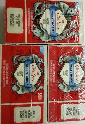18 ct~Old Spice Wild Collection Wolfthorn Men's Bar Soap 4 oz each
