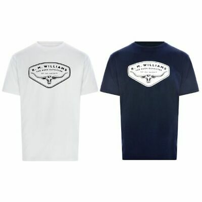 RM Williams Shield T-Shirt - Free Tracked Shipping