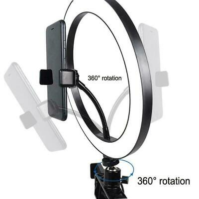 """10"""" LED Selfie Ring Light with Tripod Stand Phone Holder Hot Makeup For Liv F4C0"""