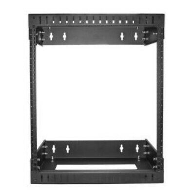 NEW STARTECH RK12WALLOA 12U WALL MOUNT SERVER RACK - 12 - 20 IN..b.