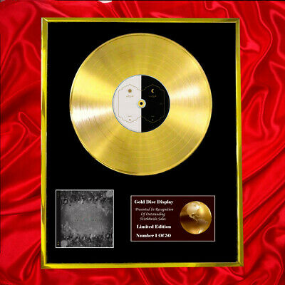 Coldplay Everyday Life Cd Gold Disc Album Vinyl Lp Record Great Gift!