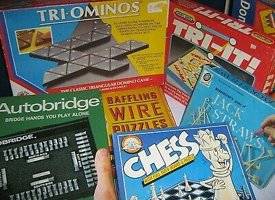 TRADITIONAL BOARD GAMES @@ 1950/80 click SELECT to browse / order