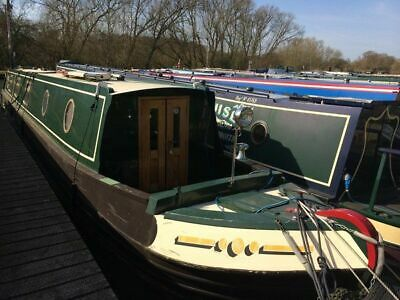 "Narrowboat ""Quiet Man"" 58Ft"