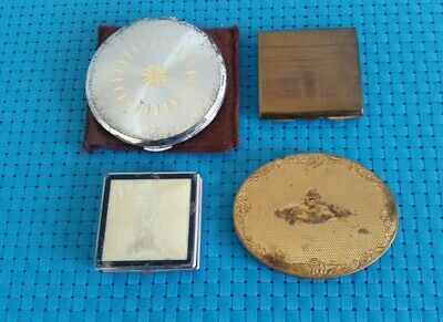 4 VG KIGU- Zenette - Stratton Made In England Powder Make Up Compact With Mirror