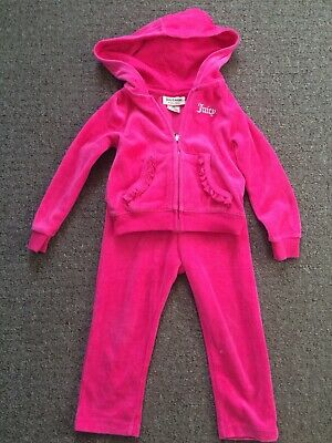 girls juicy couture tracksuit Age 24 Months, Hardly Worn