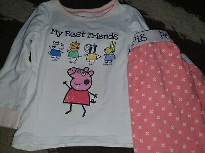 Marks And Spencer Peppa Pig Snuggle Fit Pyjamas 18-24 Months