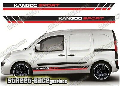 Citroen Berlingo sides 003 sport van racing stripes decals graphics stickers