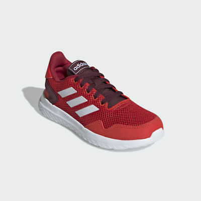 NIB Adidas Kids' ARCHIVO K Running Shoes, Red, Size 2 M, MSRP: $55 Free Shipping