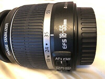 Canon efs 18-55mm lens f/3.5-5.6 IS
