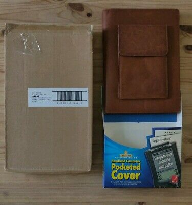 NOS Authentic Discontinued Day-Timer Tan/Brown Leather Cover & Daily Journal