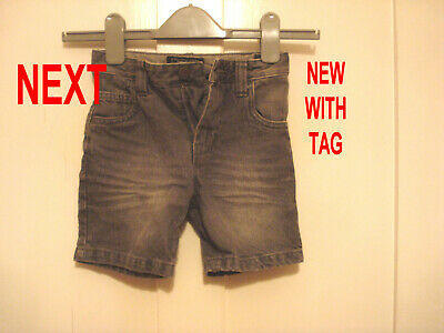 Next Boys Grey Denim Jeans Shorts. New With Tag. Age 4