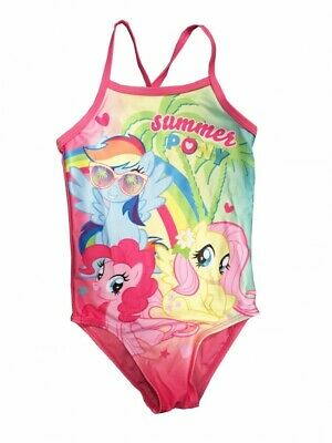 Official Licensed Baby Girls My Little Pony Swim costume Age 12-18 Months