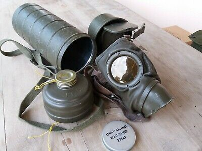 Original German Military Gas Mask post wwii, protective