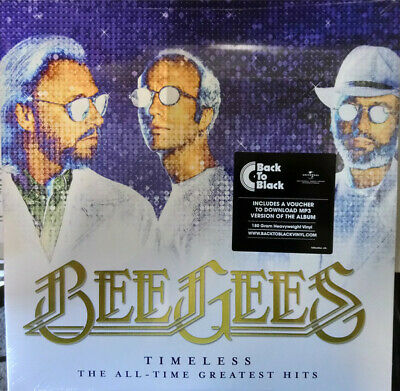 Bee Gees:  Timeless, All Time Greatest Hits (2 180g vinyl) New & Sealed