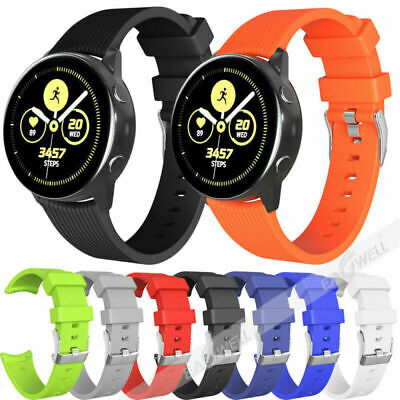 Sport Soft Striped Silicone Replacement Wristband For Various 20/22mm Watch Band