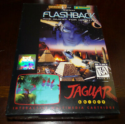 Atari Jaguar Flashback The Quest For Identity 1994 Sealed Brand New