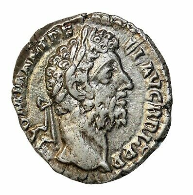Ancient Roman Coin Commodus Denarius Silver 177-192 AD Rome Mint RIC.222a