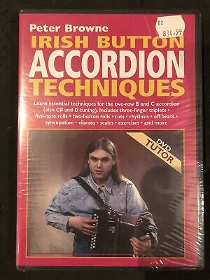 Irish Button Accordion Techniques DVD By Peter Browne