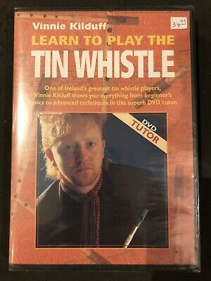 Learn To Play The Tin Whistle DVD By Vinnie Kilduff