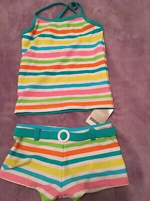 Next Tankini girls kids brand new with tags - multi colour age 7-8 years