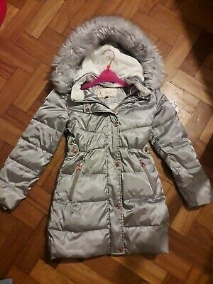 Girls Ted Baker Coat 10 Years 70% Down Feather