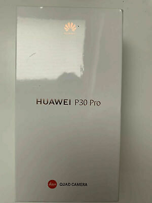 Brand New Sealed Huawei P30 Pro VOG-L29 - 128GB - Black 8GB RAM Vodafone