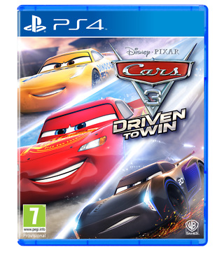 Cars 3 Driven to Win (PS4)