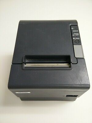 Epson TM-T88IV  M129H Thermal POS Receipt Printer Ethernet w Power Supply
