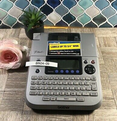 Brother P-Touch PT-1830 label printer maker - tested