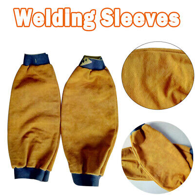 Leather Welding Welders Sleeve Per Pair of Sleeves Welding Protective Gear
