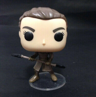 Funko Pop Game of Thrones #79 Arya Stark with Double Edge Spear Loose NO Box