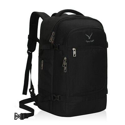 Hynes Eagle Convertible Travel Backpack 40L Flight Approved Carry on Backpack