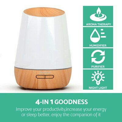 Purifier 500ml Aromatherapy Aroma Atomizer Essential Oil Air Humidifier Diffuser
