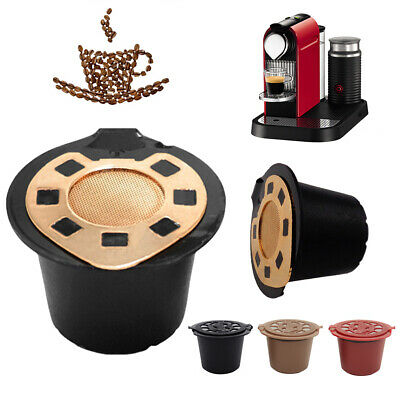 Simple Refillable Reusable Coffee Capsules Pods For Nespresso Machines Spoon Re