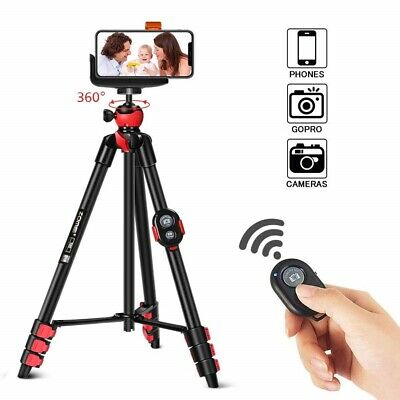 Zomei Tripod Cell Phone Clip Portable Compact For iPhone GoPro Camera Bluetooth