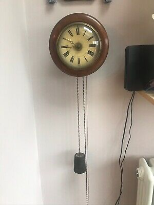 Old POSTMANS ALARM WALL CLOCK